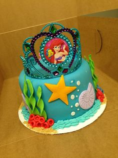 Ariel Birthday Cakes Little Mermaid Birthday Cake How To Decorate It Cambrias Bday. Ariel Birthday Cakes Little Mermaid Birthday Cake Earline Durlacher Looks Like She Wants. Ariel Birthday Cakes Little Mermaid Cake Little Mermaid Swimming Cake Future Ba. Little Mermaid Birthday Cake, Little Mermaid Cakes, Mermaid Cupcakes, Little Mermaid Parties, The Little Mermaid, Friends Birthday Cake, 5th Birthday Cake, Girl Birthday, Birthday Ideas