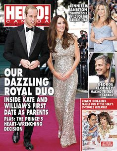 Issue 321 out today! Find out what exciting new challenge lies in store for Kate and William, how Joan Collins defies aging, all about Cheryl Hickey's work-home balance, Prince Harry's 29th birthday, Amber Marshall's ranch wedding and more!