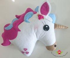 Unicornios de fieltro - Dale Detalles