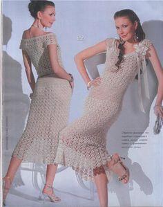 Encantadores vestidos encontrados en la red, tan bonitos que de verdad provoca hacer alguno para estrenar o regalar a alguien en...