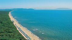 Maremma's beaches along the Etruscan Coast in Tuscany