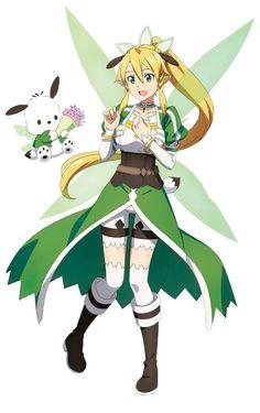 Leafa Sao, Kirito, Sword Art Online, Online Art, Sao Characters, Fictional Characters, Rwby Anime, Anime Comics, Boku No Hero Academia