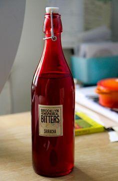 Sriracha Bitters from Brooklyn Bitters as used at Momofuku Ssam Bar