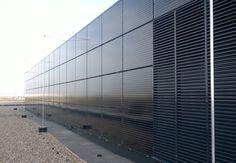 Photovoltaikanlage Aspern IQ - Fassade