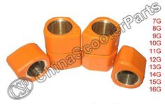 11G HP Polygon 18x14 Variator Slider Roller GY6 125CC 150CC Gmax 125 Jonway Baotian Keeway Scooter Parts ATV Buggy