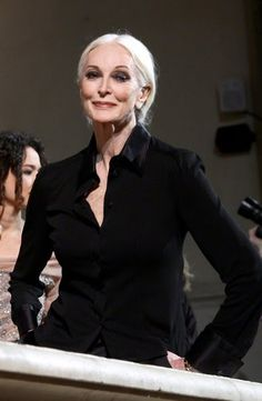 Carmen Dell'Orefice (Born: June 3, 1931) is an American model and actress, born in New York, NY. She is known within the fashion industry for being the world's oldest working model as of the Spring/Summer 2012 season.