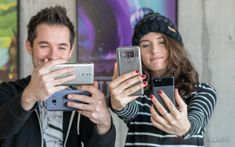 The best phone cameras for selfie videos  Introduction  You can imagine we have a ton of phones lying around at the office. Youd think then it would be easy enough to pick up just the right one for any given task at any given time. Ah but selfie videos? Has anybody looked into which phone is the best for vlogging? We are not quite sure but were sure we havent. Well about time we fix this.  We ended 2017 with a few top ten lists where we tried to pick the 10 best phones in several categories…