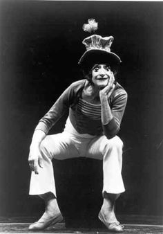 Marcel Marceau as 'Bip'...I was blessed to see him perform twice in my life.
