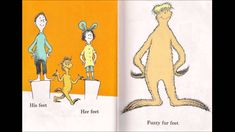 'The Foot Book' song by Dr. Seuss