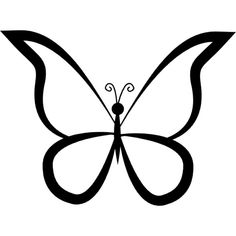 Enjoy these Butterfly Outline Images for free Butterfly outline Outline designs Butterfly tattoo designs