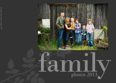 Family Circle Album TEMPLATE: 113277 By Leanne Reist-Barr 11.5 x 8.5 Lay-flat Storybook Create an impression with this stunning album designed to display and highlight family photos. Part of a collection, it matches the canvases with the same name.