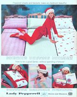 Lady Pepperell Sheets and Blankets 1960 Ad Picture