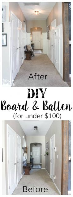 DIY Board and Batten for Under $100