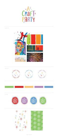 small-business-branding-annapolis-washington-dc-stationery-craft-brand-board Stationery Craft, Brand Board, Create And Craft, Business Branding, Craft Party, Craft Kits, Washington Dc, Branding Design, Mood Boards