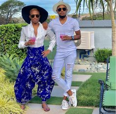 See how South African media personality Somizi stepped out with his man (Photos) Radio Personality, Recent News, Man Photo, Tv On The Radio, Harem Pants, Gay, African, Celebrities, Outfits