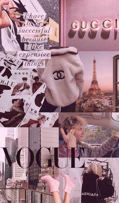 Follow4follow. - - - - #gucci #chanel #vogue #wallpaper #iphone #pink #aesthetic