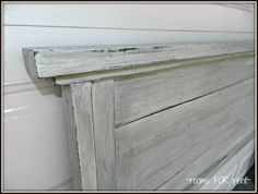 So while I was on vacation, my mother-in-law started talking to me about wanting to make a new headboard out of an old door. I was im...