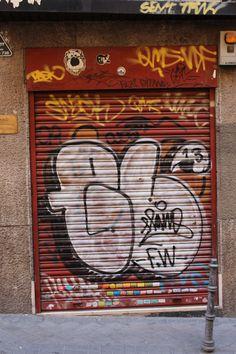 Calle de San Hermenegildo. Conde Duque. Madrid. 2015