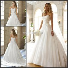 NEW ARRIVE-beautiful and fancy A-line sweetheart chiffon ique and beads wedding dresses lace-up floor-length