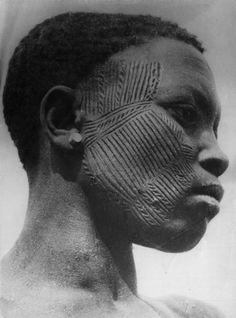 "Africa | ""Nigerian types (Northern) Hausa, Fulani, Tuareg"" | Vintage print; LIFE Photo Archive"
