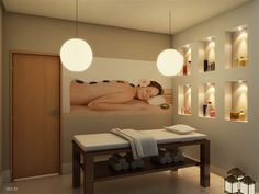 Treatment Room storage idea  Massage Therapy  Esthetician  Skin Care  Esthetics  Le