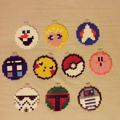 Christmas baubles (different themes - movies, games, series) - pinned by pin4etsy.com