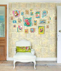 Sing Along Wallpaper By PiP Studio