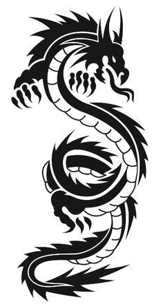 Dragon Wall Decal $16.00 www.decalmywall.com