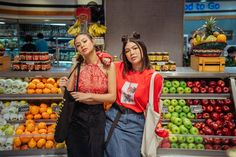 Shooting vlogger besties, Hannah Pangilinan and Janina Vela, as this month's felt like I had front-row access to an exclusive episode. Hannah Pangilinan, Front Row, Vintage Black, Besties, October, Girls, Toddler Girls, Daughters, Maids