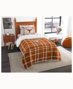 Texas Longhorns 5-Piece Twin Bed Set - Orange