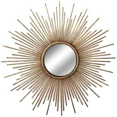 Gold Sunburst Mirror - Target $24.19