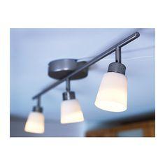 BASISK Sufitowa listwa ośw., 3 reflektory IKEA