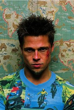 "The Baddest List Of Bad-Boy Boyfriends We'd Love To Date #refinery29 http://www.refinery29.com/2013/06/47869/bad-boy-boyfriends-characters#slide9 Tyler Durden, Fight Club ""Seriously, Brad Pitt has never looked better. The abs, the biceps, the brooding glare, and punky spikes are (still) everything. Sure, Tyler's a womanizer and doesn't really care about anyone but himself, but I'd shack up in that rundown, decrepit house any day with the guy."" — Hayden Manders, news editorial ..."