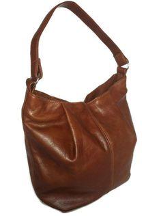 455eaa210aec Brown hobo purse cognac smooth leather bag medium everyday fashion casual  classic style handbag handmade handbags and purses Zuly