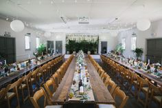 Vintage Timber Tables | Wooden Folding Chairs | Fairy Lights | White Paper Lanterns | Thomas Stewart Photography  | Upper River Hall | South Coast Party Hire White Paper Lanterns, Wooden Folding Chairs, Timber Table, Party Hire, Catering Equipment, Fairy Lights, Coast, Tables, River