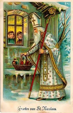 The Philosopher's Wife: 7 Quick Takes Old Fashioned Christmas, Christmas Past, Victorian Christmas, Father Christmas, Vintage Christmas Cards, Christmas Images, Vintage Holiday, Vintage Cards, Vintage Postcards