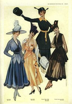 Delineator Magazine 1916 by dovima_is_devine_II, via Flickr