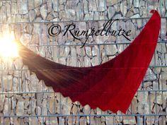 Anleitung für ein gehäkeltes Drachenschwanz Tuch – rumpelbutze