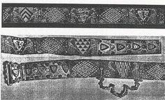 Fernando de la Cerda's belt, 13th century, brocade