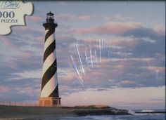 Cape Shore 1000 Piece Puzzle - Cape Hatteras Lighthouse, Outer Banks, North Carolina Cape Shore http://www.amazon.com/dp/B006MUE2TW/ref=cm_sw_r_pi_dp_qyyaxb0W8XG6Z
