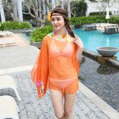 5a5059a4e043c Women Summer Dress Chiffon Wrap Sarong Beach Swimwear Swimsuit Beach  Bathing Suit Cover Up Bikini Scarf Pareo