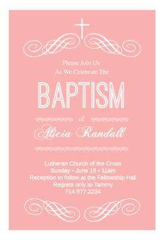 57 best printable baptism christening invitations images on