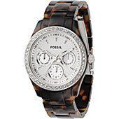 Fossil Fossil Ladies Stella Multifunction Tortoise Glitz Watch  #eBags and #eBagswishlist