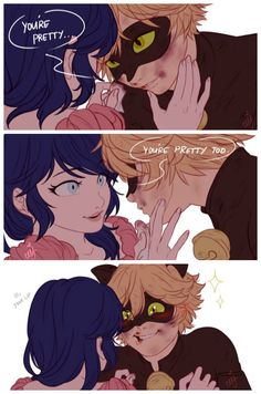 Oh Chat... (Miraculous Ladybug, Marinette, Chat Noir, Marichat)