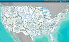 Rivers And Streams Online Map, Know Where The Water Is...
