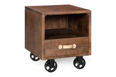 Soild Acacia Wood Oaktown Night Stand