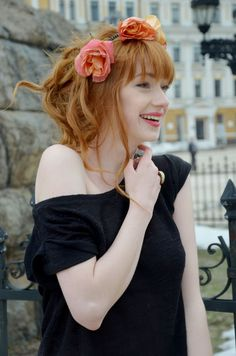 "|| Alina Kovalenko || ""Mayara, the most sweet girl you will ever meet. That is a truly hapy girl. She tries not to hurt anyone with her words and does everything to make everyone feel better. Certainly she would like to have you as a friend."