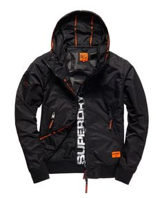 Superdry Black Flite Lite Jacket - Men's Jackets Black Men Street Fashion, Street Fashion Tumblr, Korean Street Fashion, Dope Fashion, Mens Fashion, Fashion Pants, Outfits For Teens, Cool Outfits, Casual Outfits