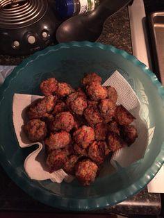 Sausage Balls just like my Gran makes