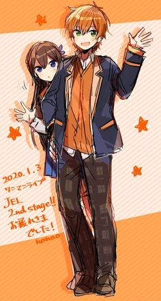 Friend Anime, Anime Best Friends, Cute Anime Coupes, Dark Anime Guys, Anime Drawings Sketches, Cute Anime Boy, Anime Boys, Cartoon Art Styles, Manhwa Manga